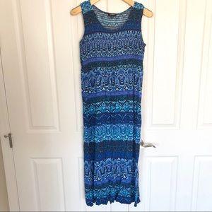 Elementz Printed Maxi Dress